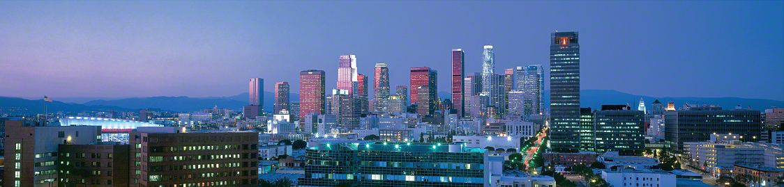 los angeles strippers skyline
